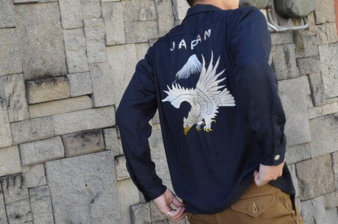 テーラー東洋のスカシャツ