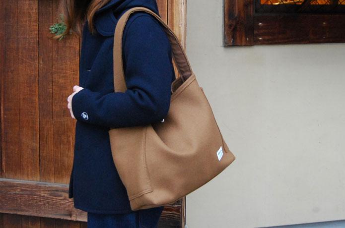 オーシバルのウールバッグ