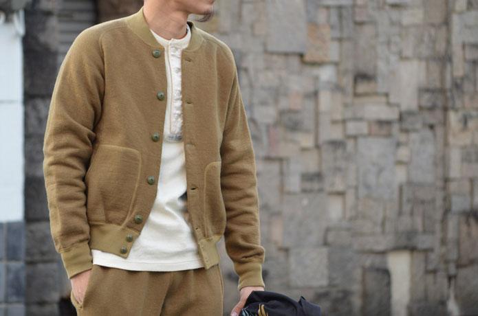 スティーブンソンオーバーオールのアスレチックジャケット