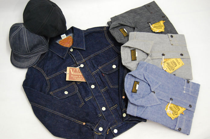 フリーホイーラーズのジージャンとシャンブレーシャツとキャップ