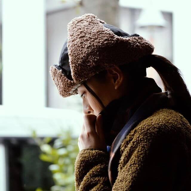 バーラップアウトフィッター (BURLAP OUTFITTER) AVIATOR HAT アビエイターハット 帽子 18FWBO0090016
