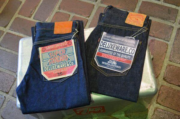 デラックスウエアのジーンズ、DX056A DX077Aの画像
