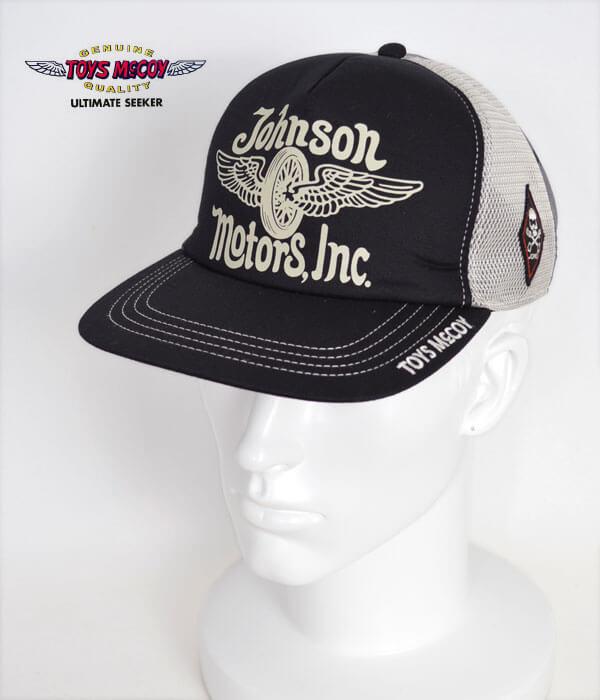 """トイズマッコイ (TOYS McCOY) TOYS McCOY MESH CAP """"JOHNSON MOTORS,INC."""" メッシュキャップ 帽子 TMA1916"""