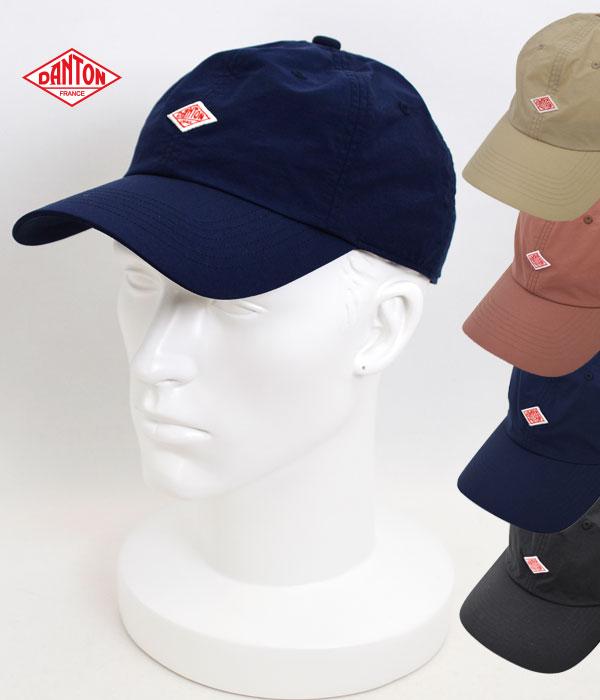 ダントン (DANTON) ナイロンタフタ キャップ 帽子 UVカット JD-7144NTF