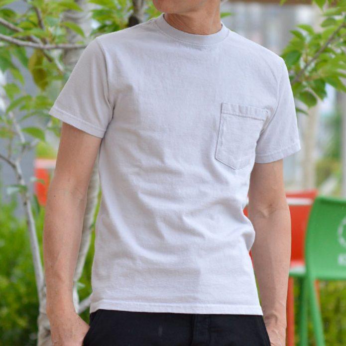 トップジミーのメンズコーディネート画像 グッドウェア (GOODWEAR) S/S POCKET TEE 半袖ポケットTシャツ