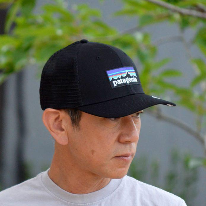 トップジミーのメンズコーディネート画像 パタゴニア (PATAGONIA) P-6 Logo Trucker Hat 帽子