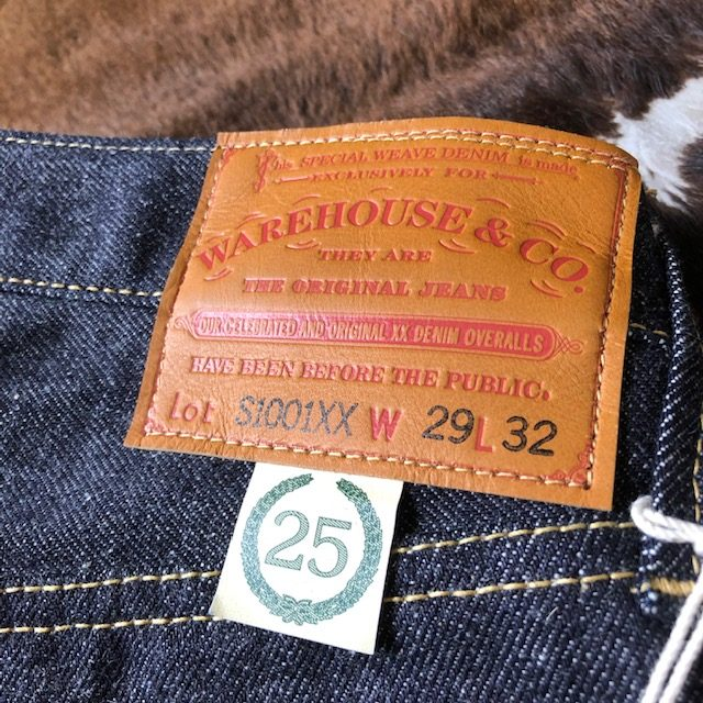 WAREHOUSE & CO. Lot S1001XX-25 (25TH ANNIVERSARY 1946 MODEL)