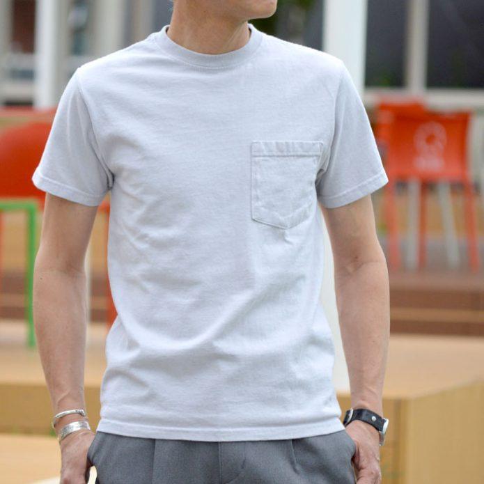 トップジミーのメンズコーディネート画像 グッドウェア (GOODWEAR) S/S POCKET TEE 半袖ポケットTシャツ GW040066