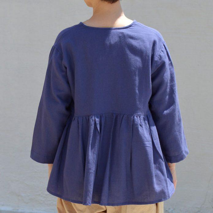 トップジミーのレディースコーディネート画像 リラシク (LILASIC) エコリネンミックスブラウス 7分袖シャツ S60186