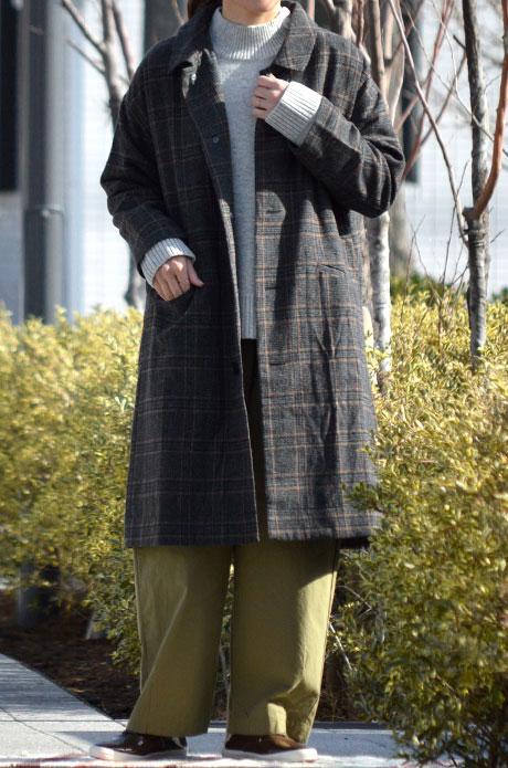 トップジミーのレディースコーディネート画像 コートが主役コーデ