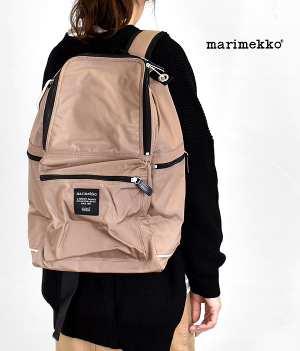 マリメッコ (marimekko) BUDDY バックパック ナイロンリュックサック 52213-2-49502