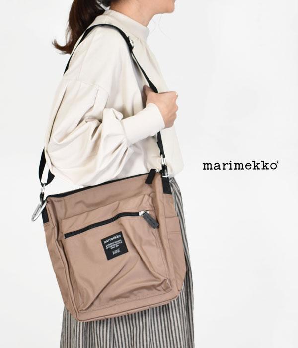 マリメッコ (marimekko) PAL ショルダーバッグ ナイロンショルダーバッグ 52213-2-49505