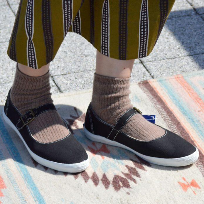 トップジミーのレディースコーディネート画像 ケッズ (KED'S) CHAMPION STRAP CANVAS ローカットスニーカー 靴 シューズ 8100