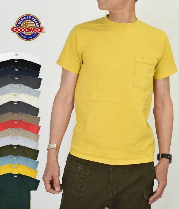 グッドウェア (GOODWEAR) S/S POCKET TEE 半袖ポケットTシャツ