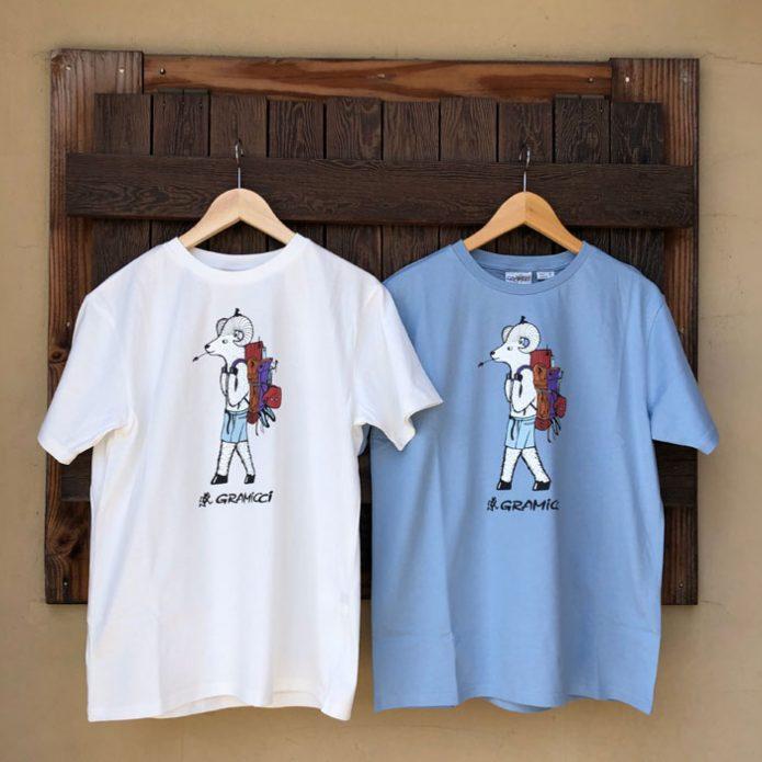 グラミチ (GRAMICCI) JONAS CLAESSON G-SHORTS ジョナス・クレアッソン BACK PACK TEE ジョナス・クレアッソン バックパックTシャツ