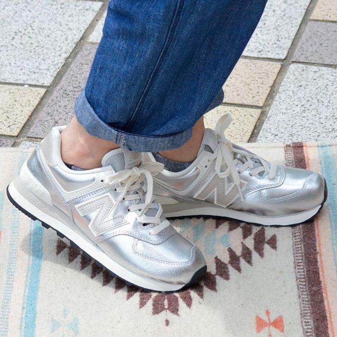 トップジミーのレディースコーディネート画像 ニューバランス (NEW BALANCE) Ws RUN STYLE スニーカー 靴 ランニングシューズ WL574 PR2