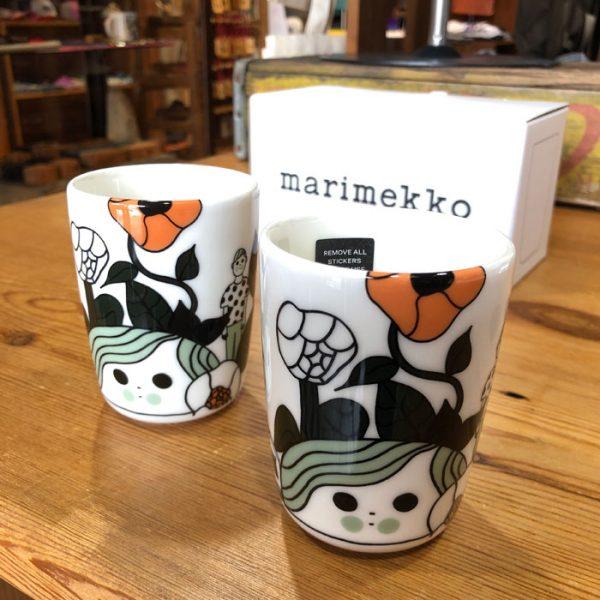 マリメッコ marimekko Marikyla コーヒーカップセット