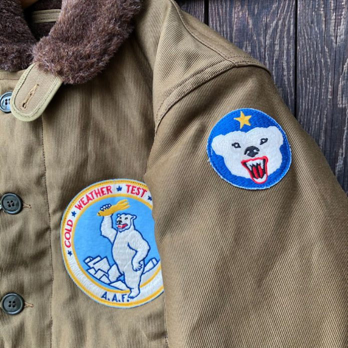 """フリーホイーラーズ FREEWHEELERS """"U.S.ARMY CWTD LADD FIELD AIR BACE"""" TYPE N-1 2131016"""
